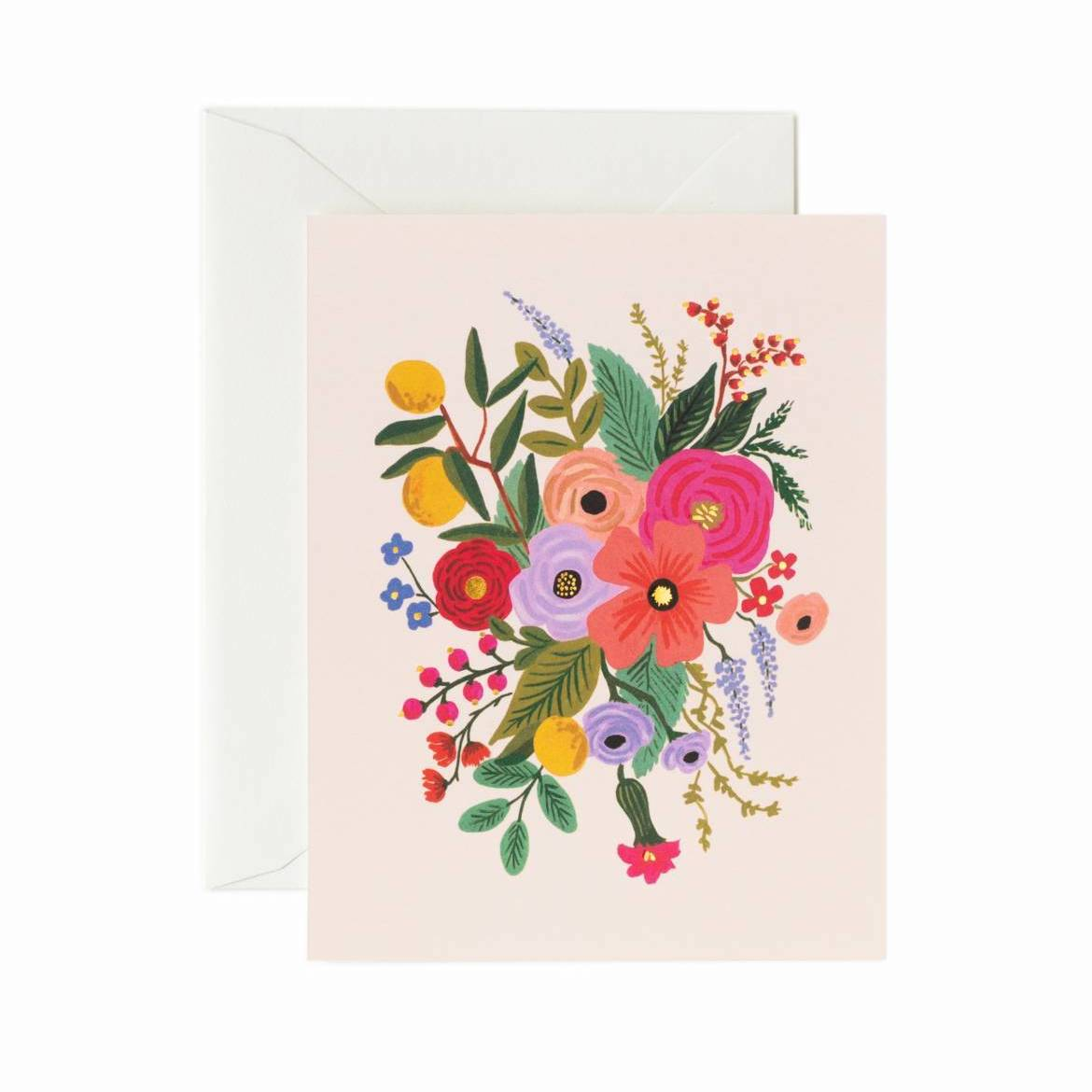 Garden Party Card Set - Blush Card - Rifle Paper Co.