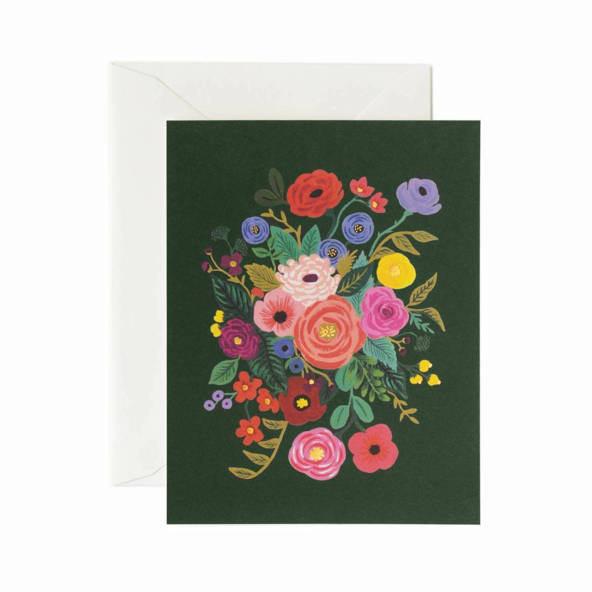 Garden Party Card Set - Hunter Green Card - Rifle Paper Co.