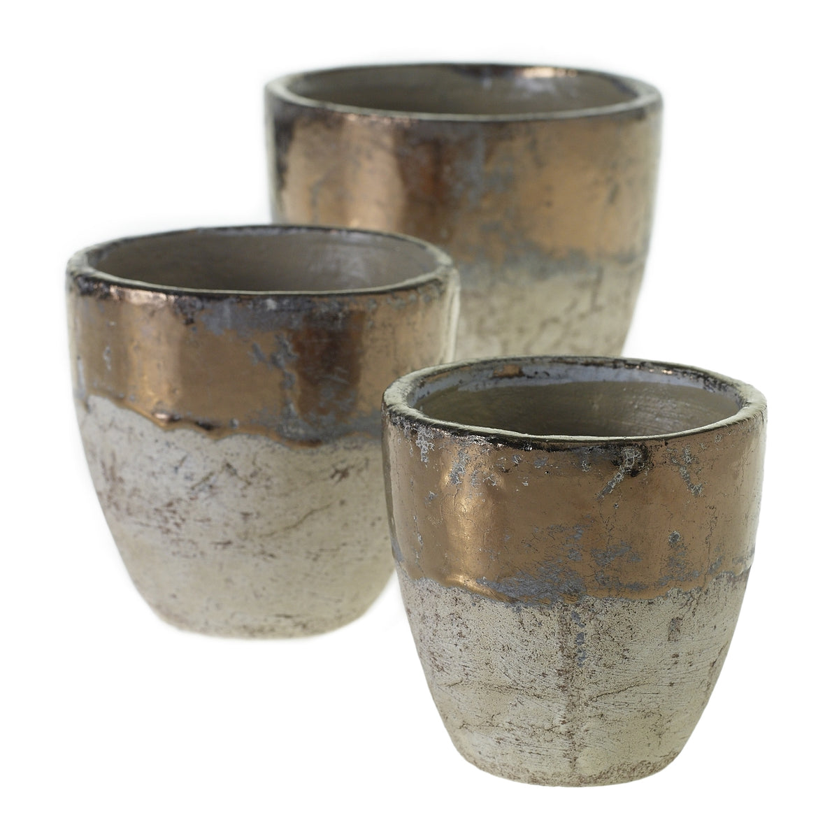 Grit and Glam Terracotta Pot - 7 x 6.75