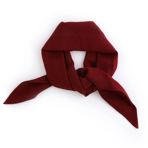 Honor Bandana - Burgundy - Vanessa Mooney