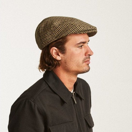 Brixton Hooligan Snap Cap - Black/Olive