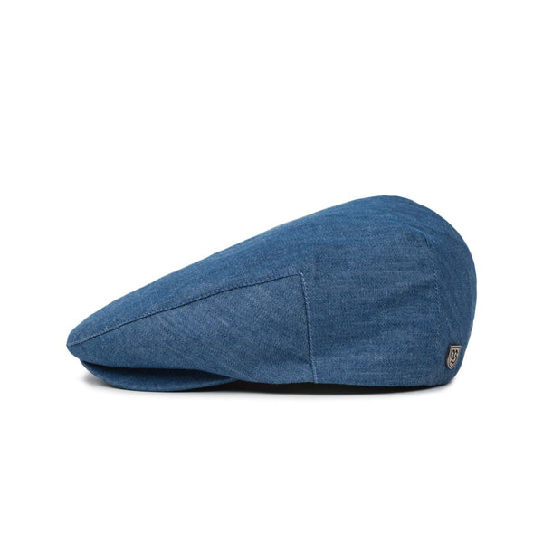 Hooligan Snap Cap in Blue Chambray - Brixton