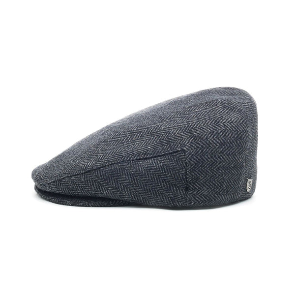 Hooligan Snap Cap in Grey Black - Brixton