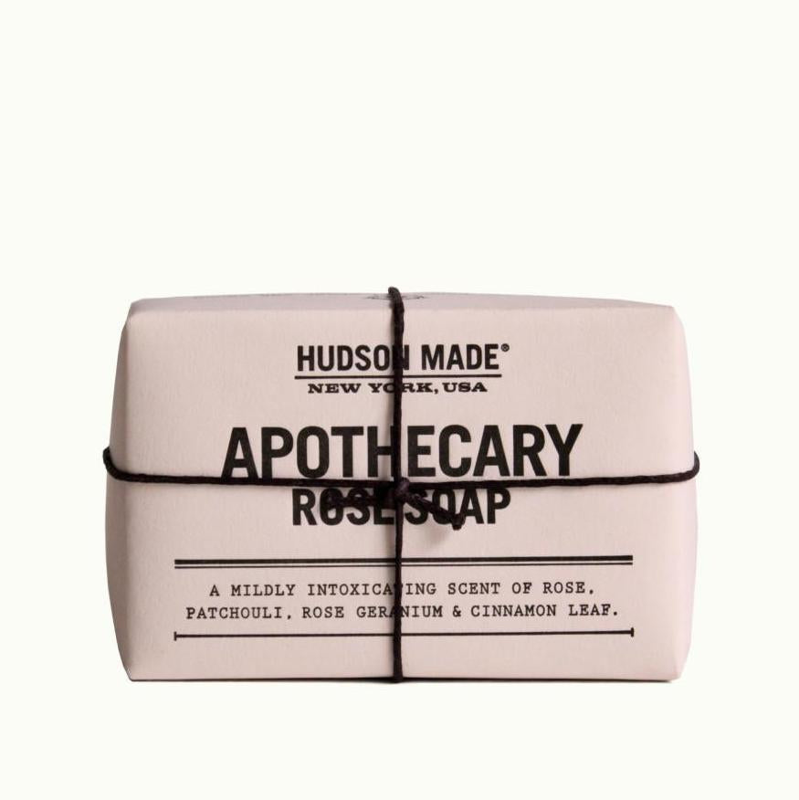 Hudson Made Apothecary Rose Soap