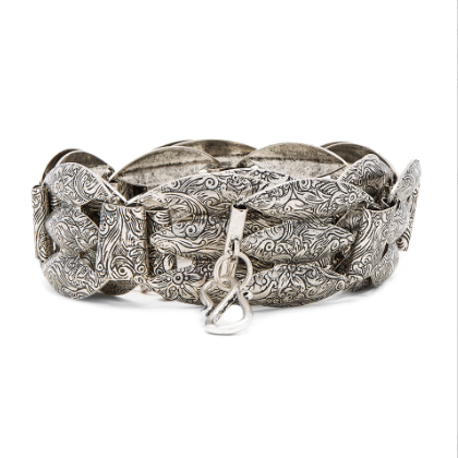 Vanessa Mooney Jagger Belt - Silver