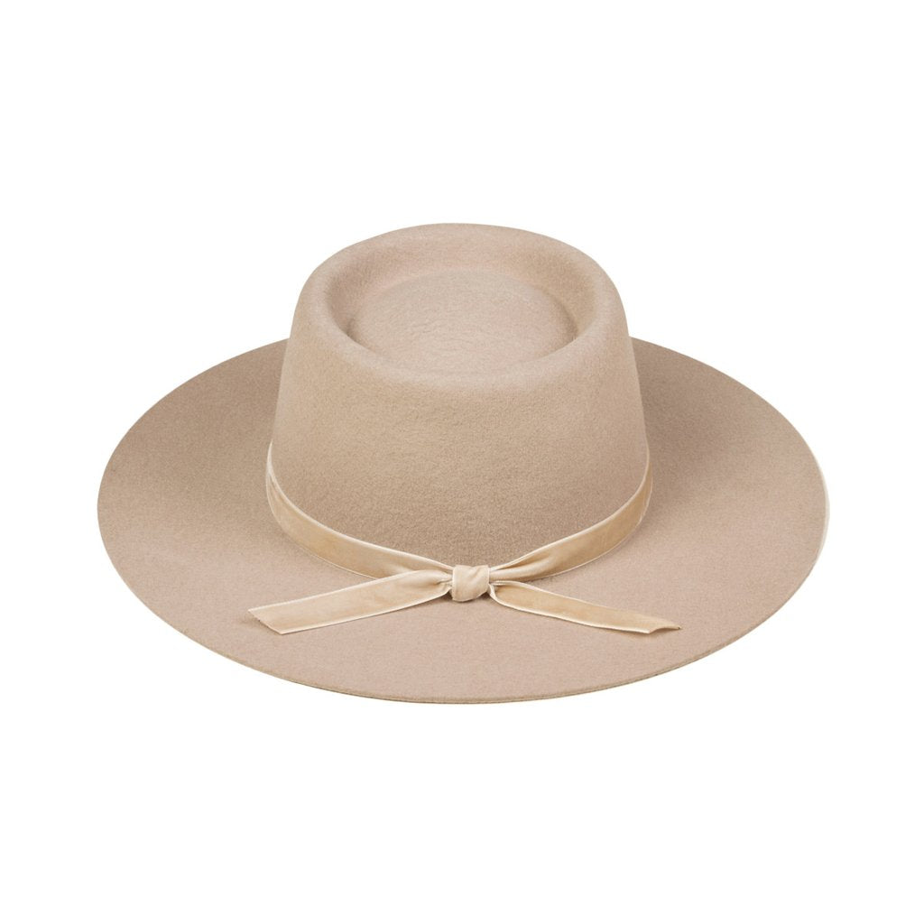 Joplin Tan Boater Hat - Lack of Color