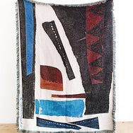 K-Apostrophe Esther Woven Throw Blanket