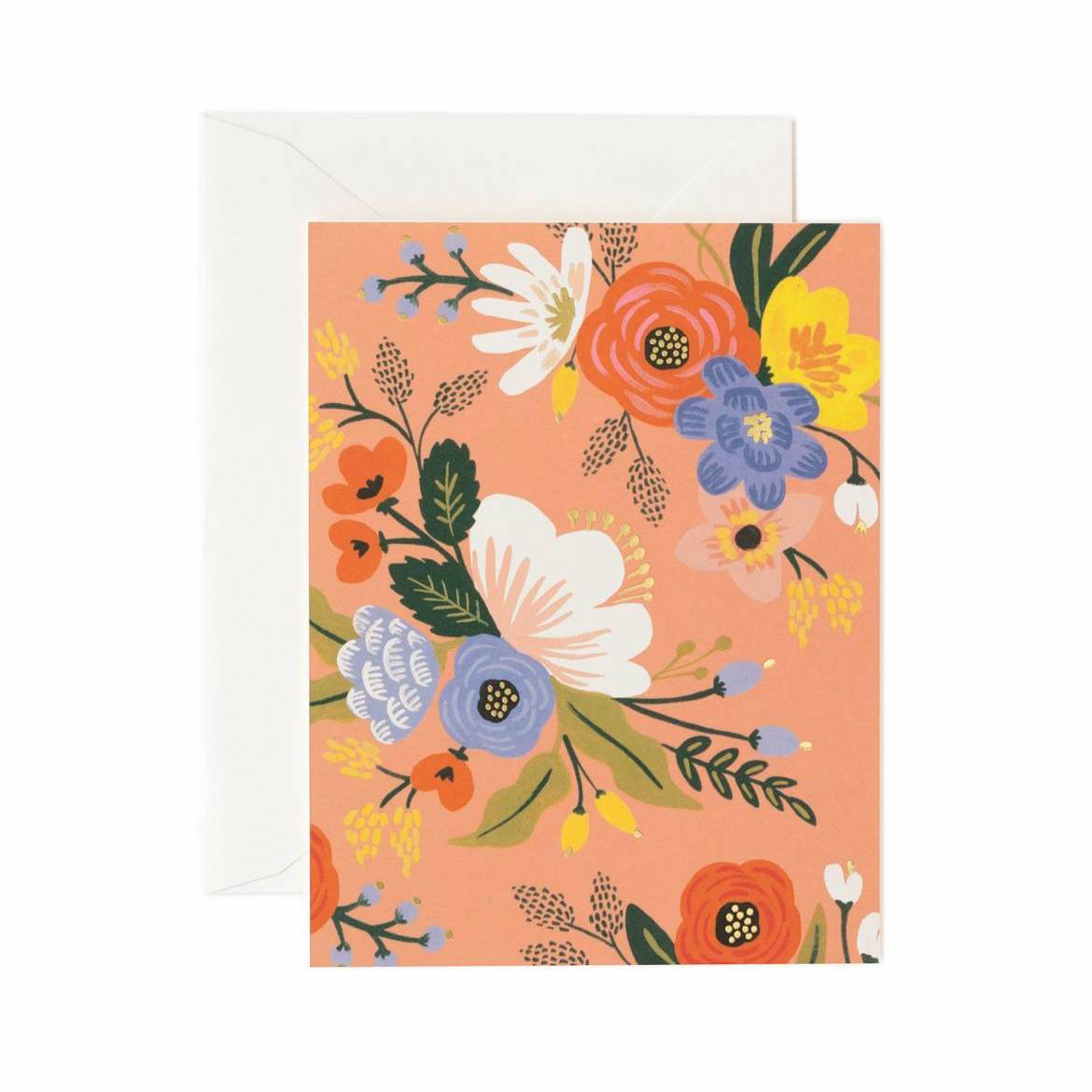 Lively Floral Card Set - Pink - Rifle Paper Co.