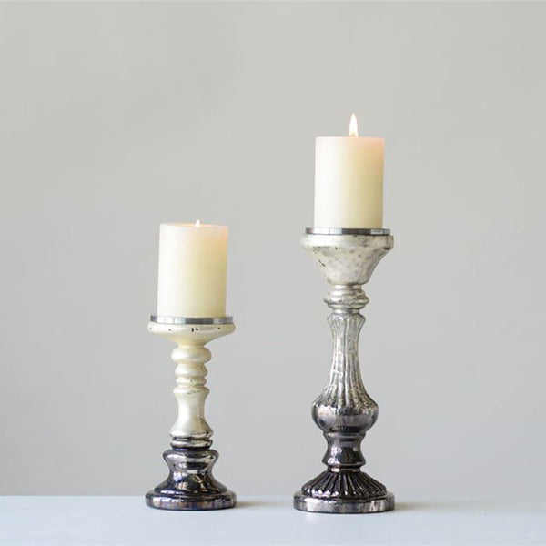 Ombre Pillar Candle Holder