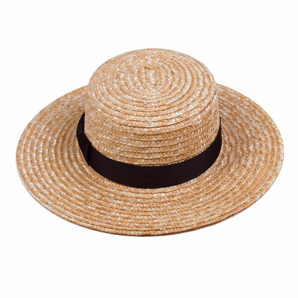 Spencer Boater - Natural Straw Hat - Lack of Color