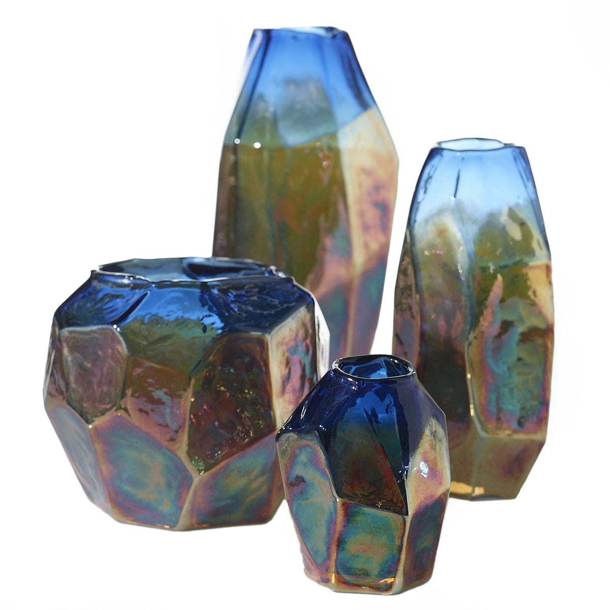 Studio Vase - Colored Glass