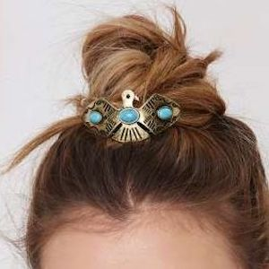 Thunderbird Bun Pin - Gold - Kitsch