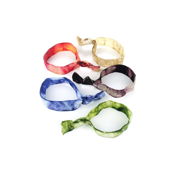 Tie Dye Hair Ties - Kitsch