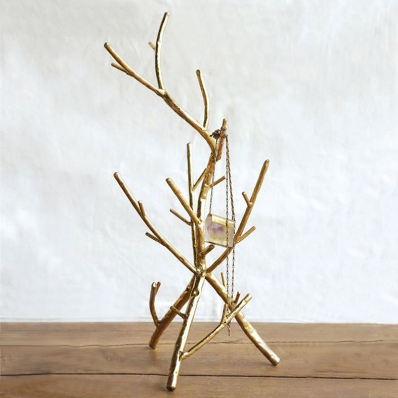 Tree Branch Jewelry Stand