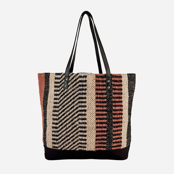 Woven Jute Tote - San Diego Hat Company