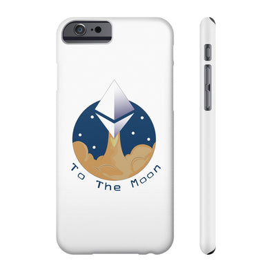 ETH To The Moon Phone Case - All Iphones