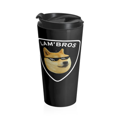 Lam'Bros Stainless Steel Travel Mug