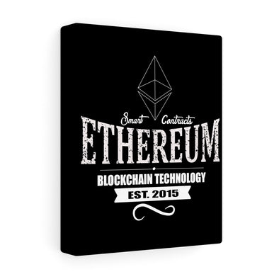 ETH Old School Canvas Print