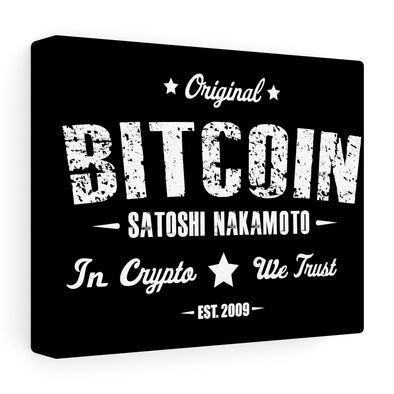 OG Bitcoin Canvas Print