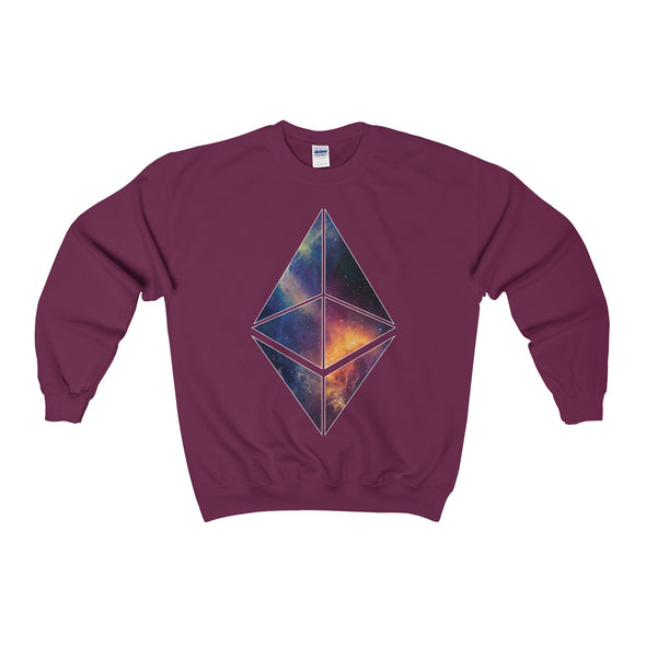 ETH Galaxy Crewneck Sweatshirt