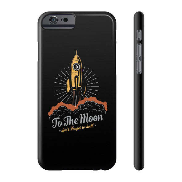 To The Moon Phone Case - All Iphones