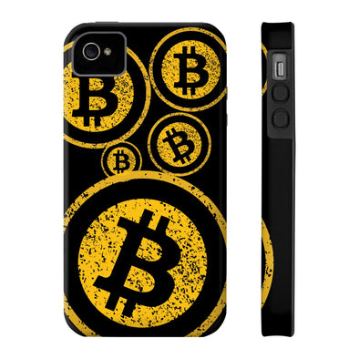 BTC Distressed Logo Phone Case - All Iphones