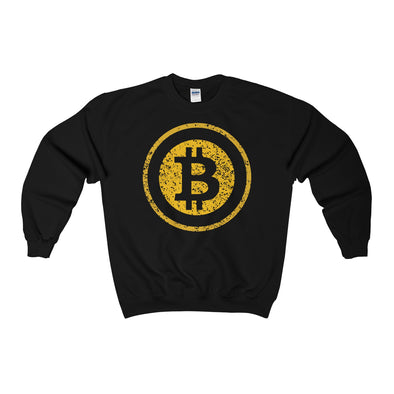 Distressed BTC Logo Crewneck Sweatshirt