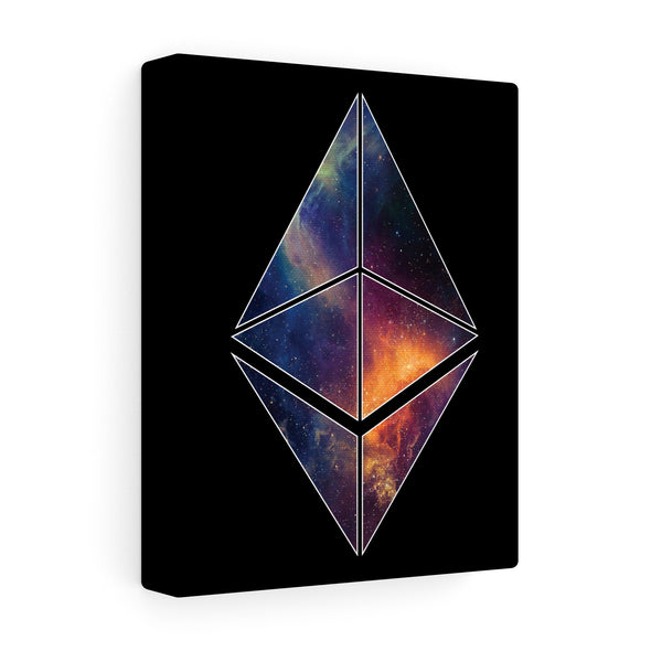 ETH Galaxy Canvas Print