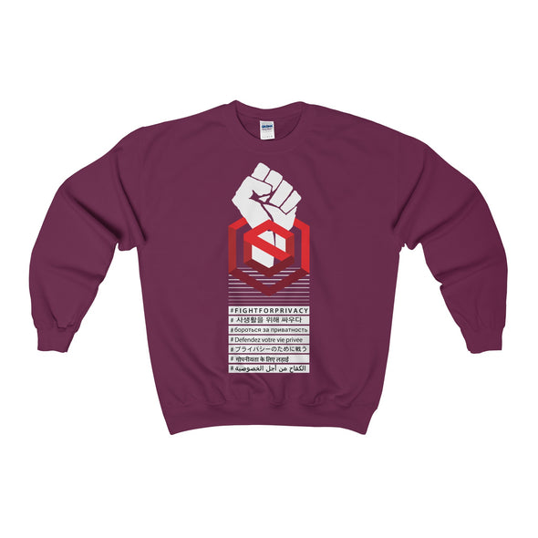 Fight for Privacy Crewneck Sweatshirt