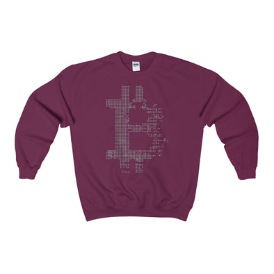 BTC Dot Matrix Crewneck Sweatshirt