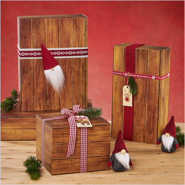 """Timber Imitation"" - 3er Gift Box (360mm)"