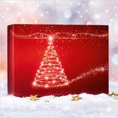 """Christmas Tree Red"" - 3er Gift Box"