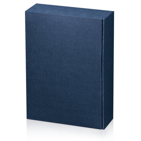 """Seta Blue"" - Structured 3er Gift Box"