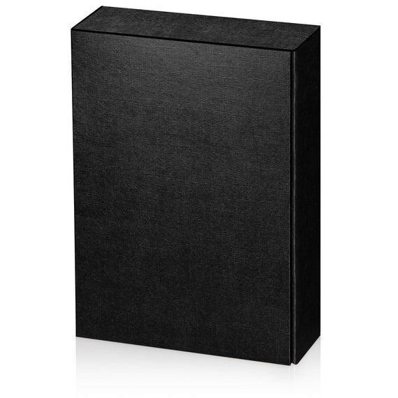 """Seta Black"" - Textured 3er Gift Box"
