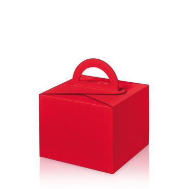 """Modern Red"" - Allround box with Carry Handle"