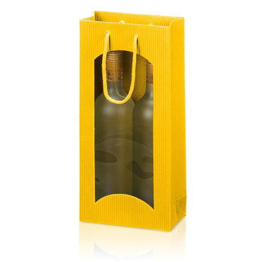 """Tragetasche Yellow"" - 2er Open Shaft with Window"