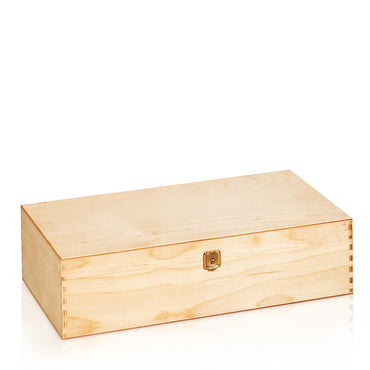 2er Wooden Box (with hinged lid)