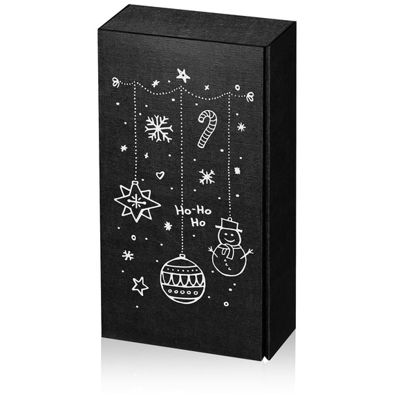 """Christmas Motive Black"" - 2 er Gift Box P120334"