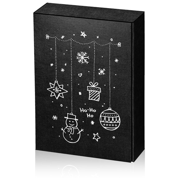 """Christmas Motive Black"" - 3 er Gift Box P130334"