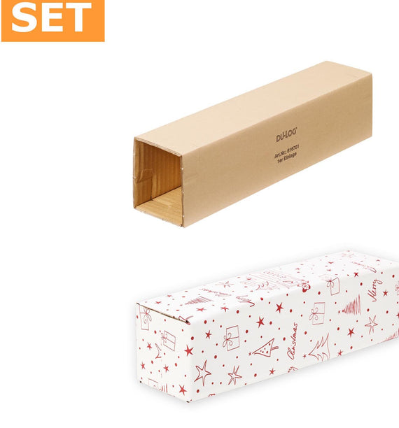 50 x 1 bottle DU-LOG bottle box size 410x95x110mm