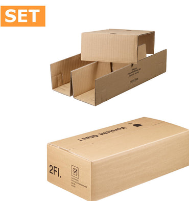 50 x 2 bottles box DU-LOG, size 400x200x110mm