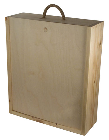 3er Wooden Box (with sliding lid)