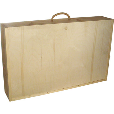 6er Wooden Box (with sliding lid)