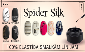 Spider Silk Effect Design
