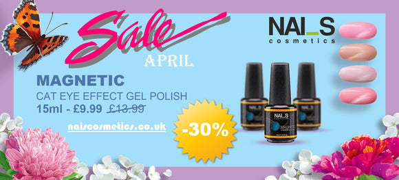 NAI_S Magnetic Gel Polish (15ml)