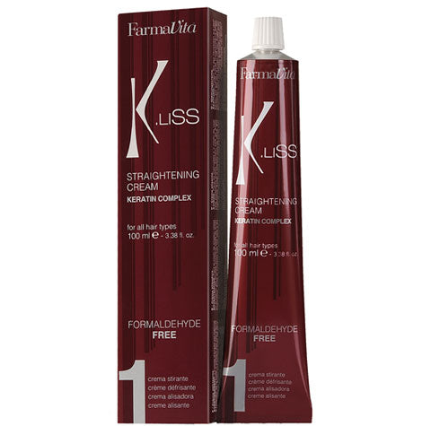 FarmaVita® K.Liss KERATIN N1 Straightening Cream (100ml)