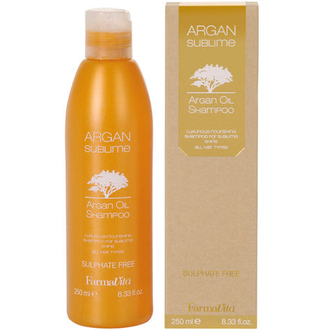FarmaVita® ARGAN SUBLIME / Argan Oil Shampoo (250ml)