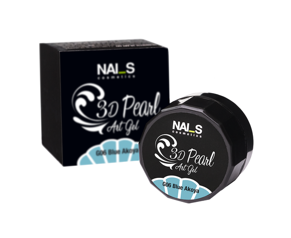 NAI_S® Gel Color PEARL 3D UV/LED (3ml)