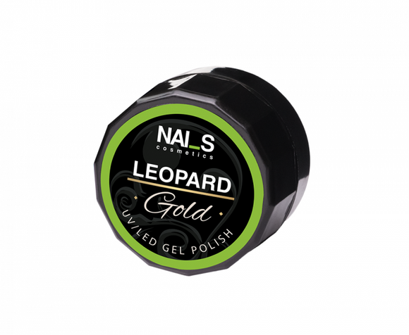 NAI_S® Gel Polish LEOPARD UV/LED Gold (5ml)