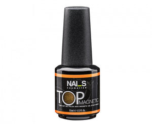 NAI_S® Gel TOP Coat MAGNETIC Silver MT2 UV/LED (15ml)